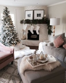 Inspiring Chritsmas Livingroom Ideas 36