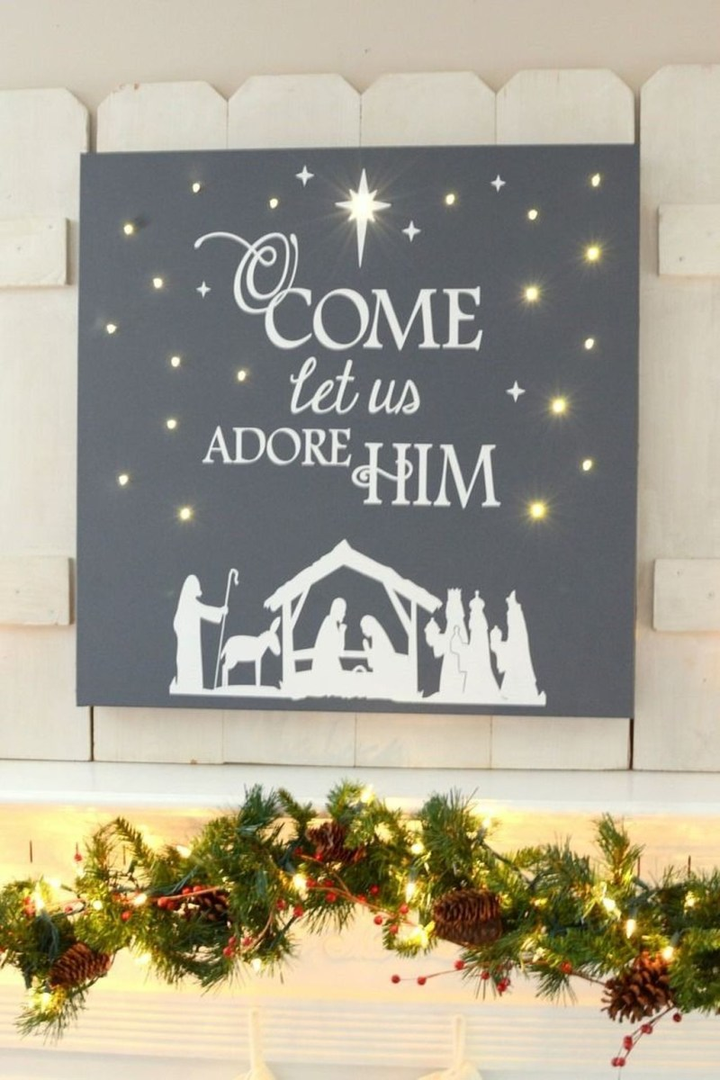 Totally Inspiring Christmas Lighting Ideas You Should Try For Your Home 02