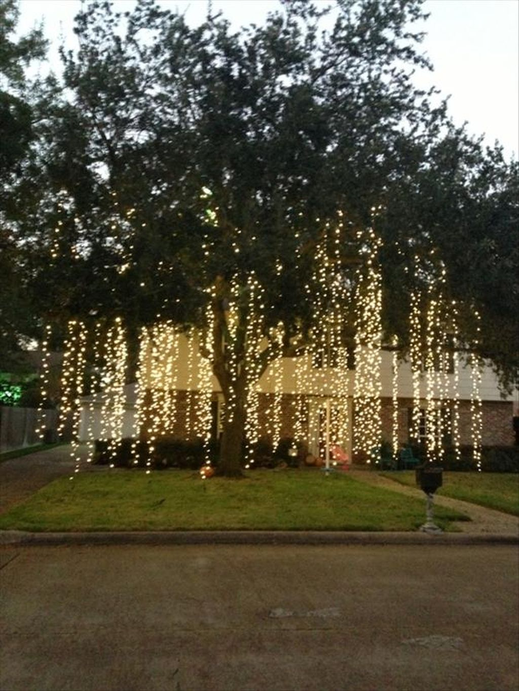 Totally Inspiring Christmas Lighting Ideas You Should Try For Your Home 05