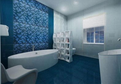 36 Cool Blue Bathroom Design Ideas 02