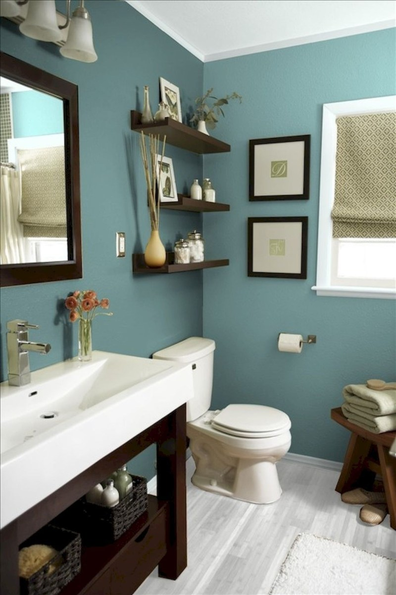 36 Cool Blue Bathroom Design Ideas 17