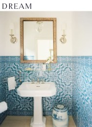 36 Cool Blue Bathroom Design Ideas 34
