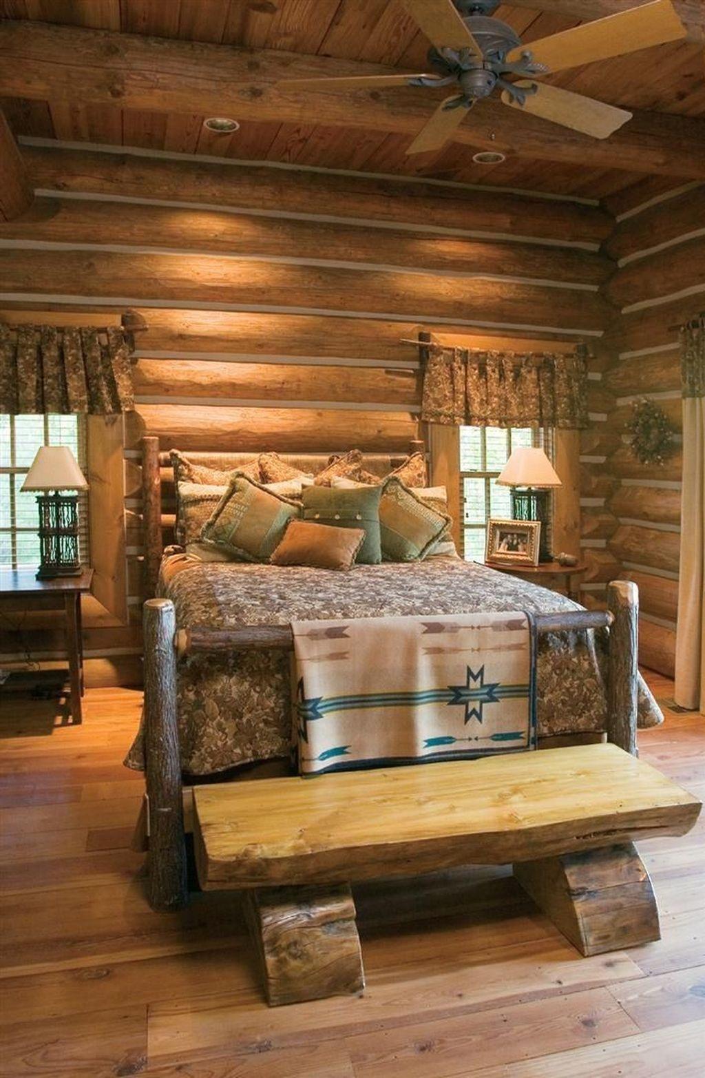 37 Cozy Rustic Bedroom Design Ideas 15