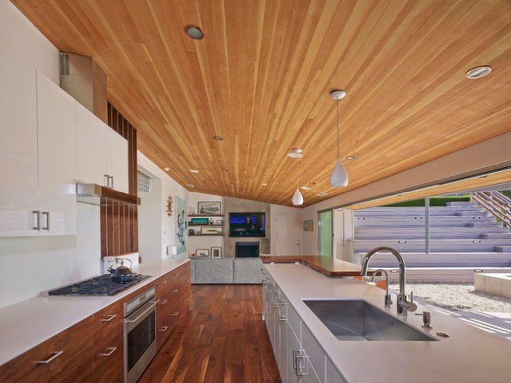 37 stylish mid century modern kitchen design ideas for Mid century modern la
