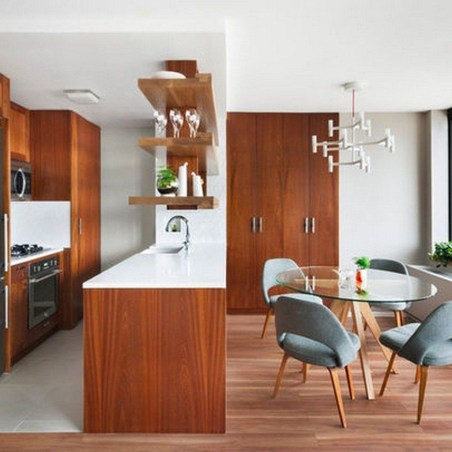 37 Stylish Mid Century Modern Kitchen Design Ideas 36