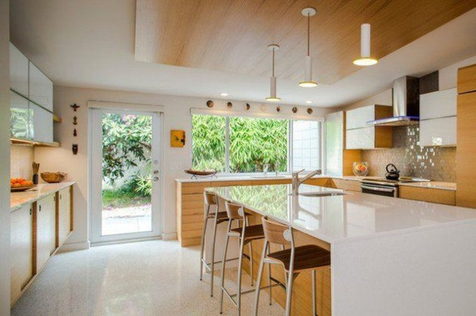 37 Stylish Mid Century Modern Kitchen Design Ideas 37