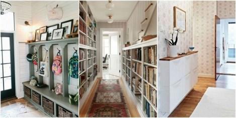 38 Brilliant Hallway Storage Decoration Ideas09