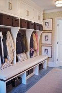 38 Brilliant Hallway Storage Decoration Ideas17