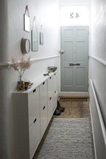 38 Brilliant Hallway Storage Decoration Ideas31