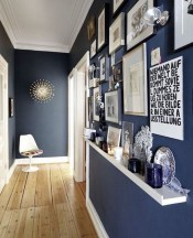 38 Brilliant Hallway Storage Decoration Ideas38