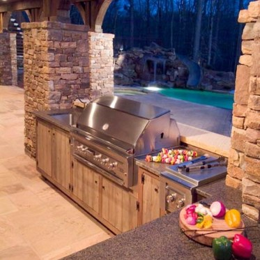 38 Cool Outdoor Kitchen Design Ideas 29