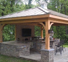 38 Cool Outdoor Kitchen Design Ideas 38
