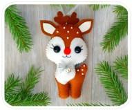39 Brilliant Ideas How To Use Felt Ornaments For Christmas Tree Decoration 10