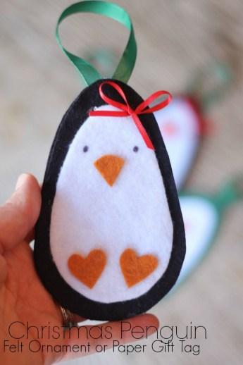 39 Brilliant Ideas How To Use Felt Ornaments For Christmas Tree Decoration 35