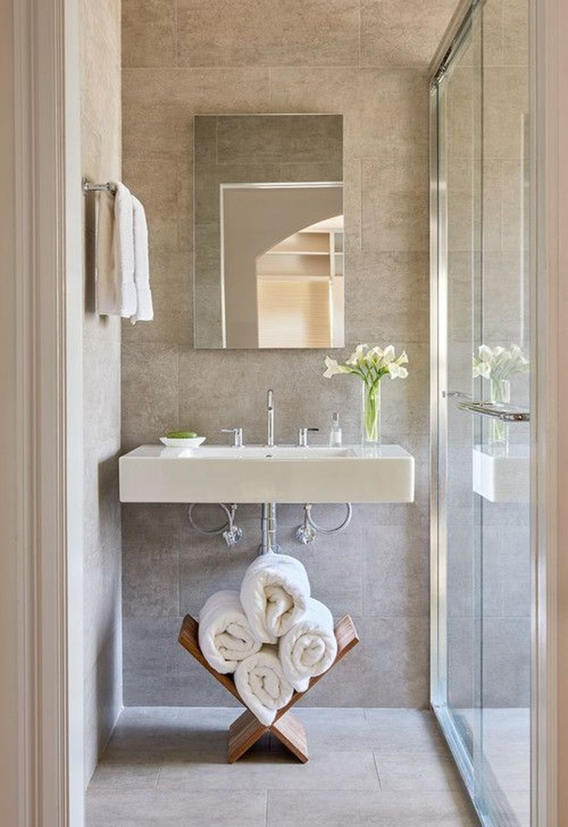 39 Cool And Stylish Small Bathroom Design Ideas25