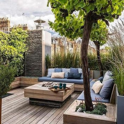 39 Inspiring Rooftop Terrace Design Ideas 09