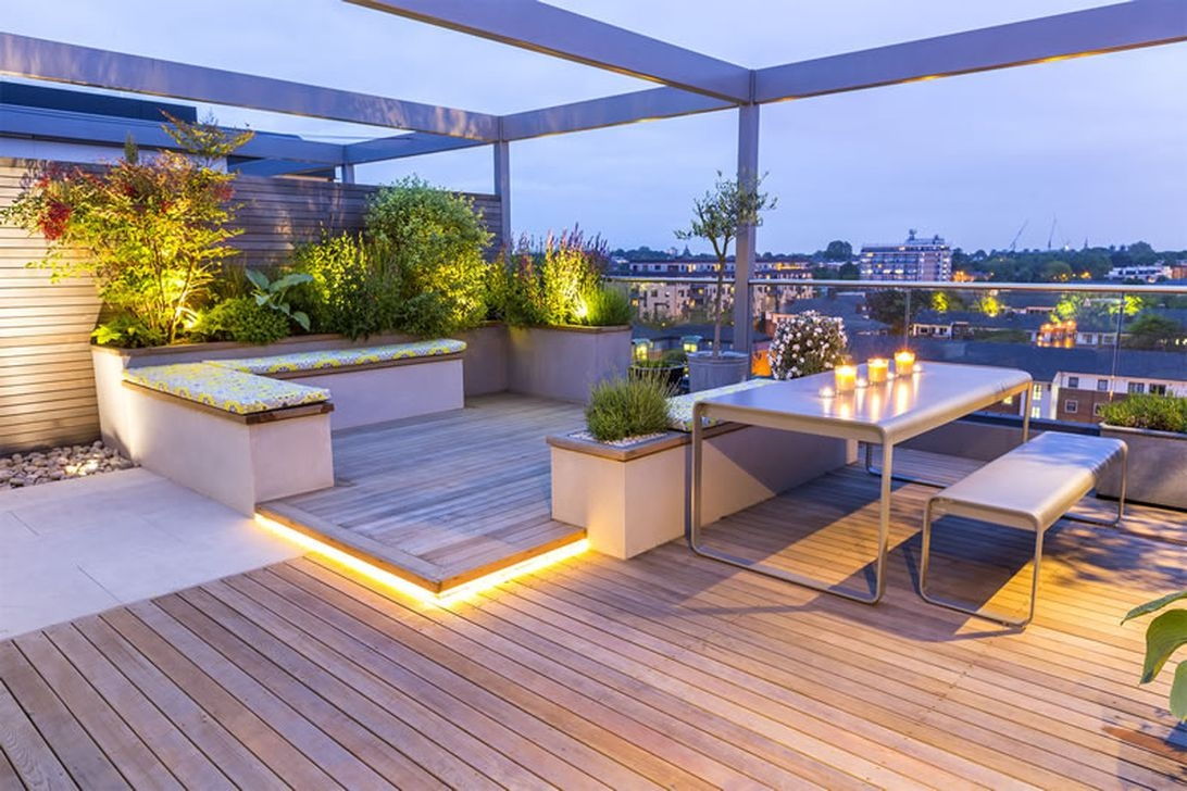 39 Inspiring Rooftop Terrace Design Ideas 11