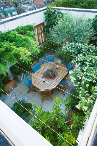 39 Inspiring Rooftop Terrace Design Ideas 23