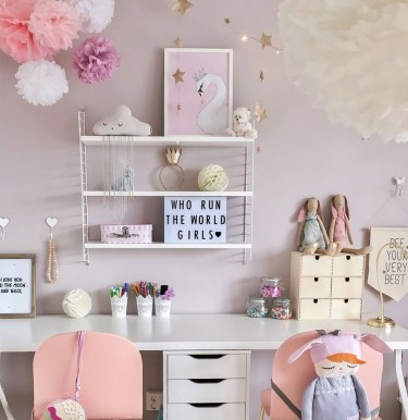 39 Wonderful Girls Room Design Ideas27