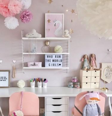 39 Wonderful Girls Room Design Ideas27