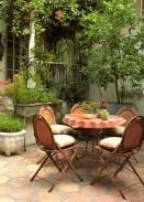 Adorable Outdoor Dining Area Furniture Ideas 04