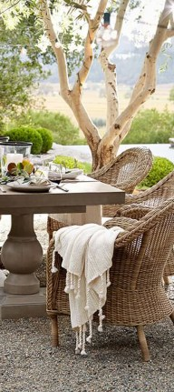 Adorable Outdoor Dining Area Furniture Ideas 06
