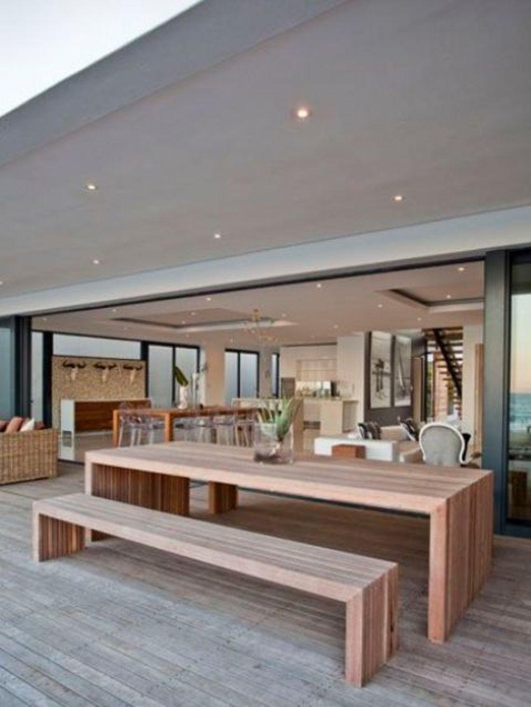 Adorable Outdoor Dining Area Furniture Ideas 17