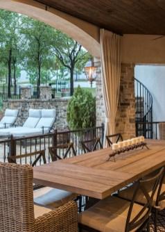 Adorable Outdoor Dining Area Furniture Ideas 26