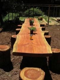 Adorable Outdoor Dining Area Furniture Ideas 31