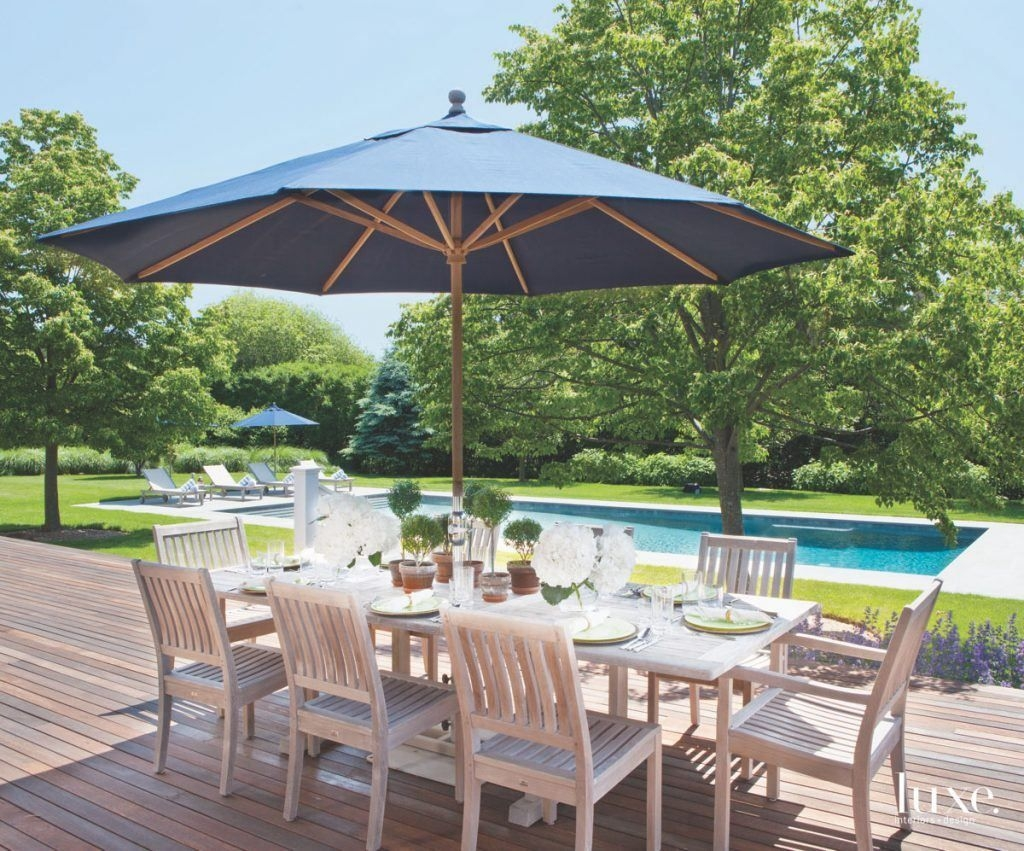 Adorable Outdoor Dining Area Furniture Ideas 35