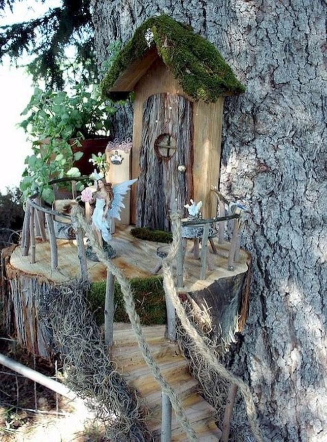 Amazing Backyard Fairy Garden Ideas On A Budget 48