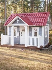 Awesome Outdoor Kids Playhouses That Youll Want To Live Yourself 06
