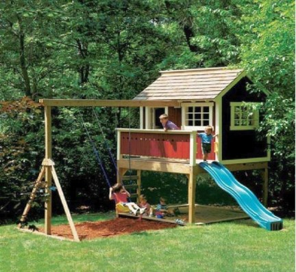Awesome Outdoor Kids Playhouses That Youll Want To Live Yourself 10