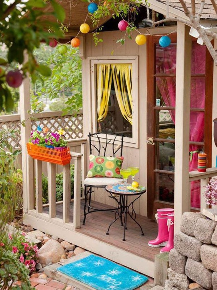 Awesome Outdoor Kids Playhouses That Youll Want To Live Yourself 19