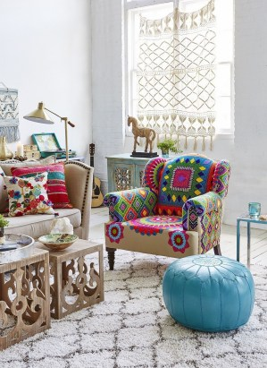 Boho Chic Home Décor Ideas With Mexican Touches18