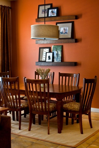 Bright And Colorful Dining Room Design Ideas 33