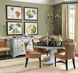 Bright And Colorful Dining Room Design Ideas 35