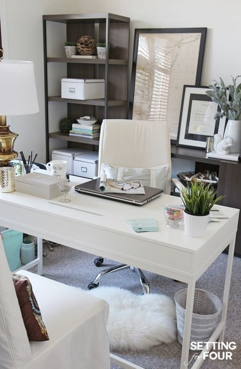 Colorful Home Office Design Ideas You Will Totally Love 09