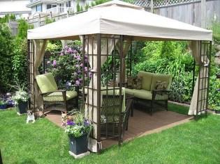 Cozy Backyard Landscaping Ideas On A Budget 45