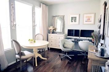 Elegant And Exquisite Feminine Home Office Design Ideas 04