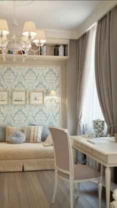 Elegant And Exquisite Feminine Home Office Design Ideas 15