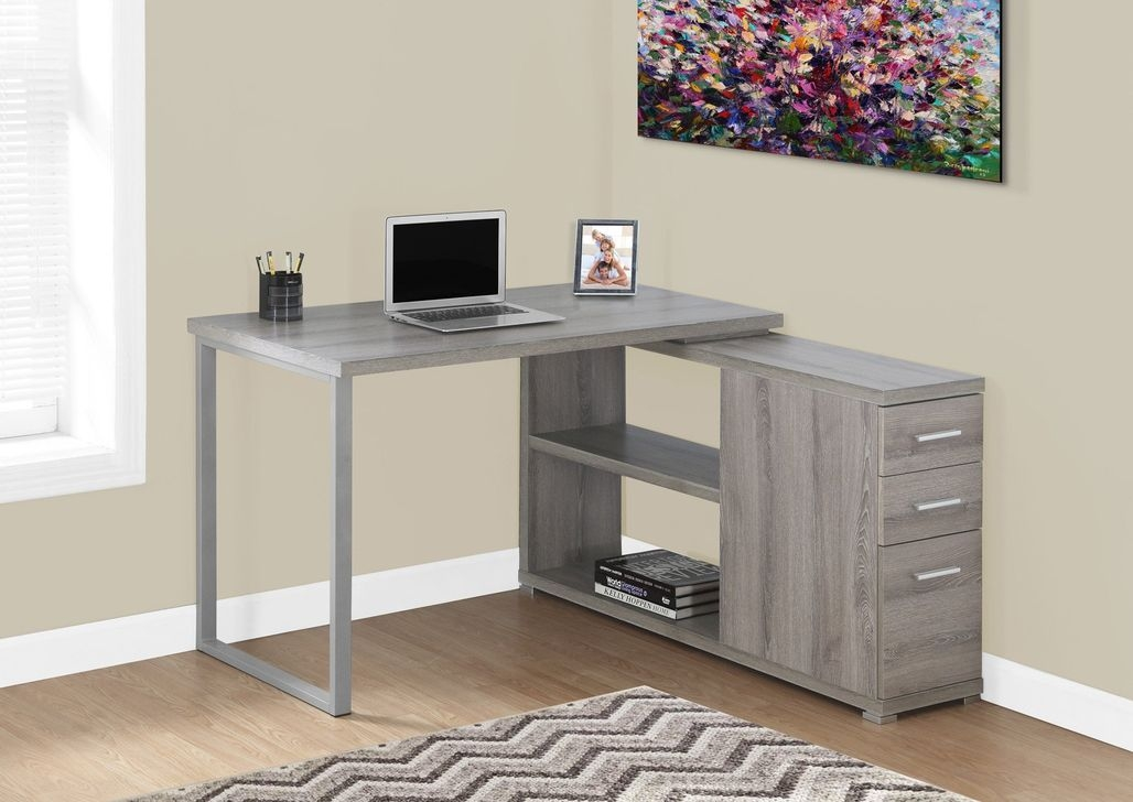 Futuristic L Shaped Desk Design Ideas 04