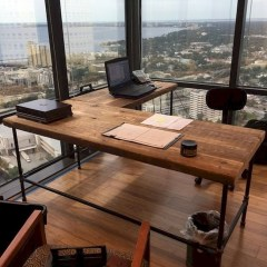 Futuristic L Shaped Desk Design Ideas 14