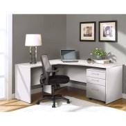 Futuristic L Shaped Desk Design Ideas 18