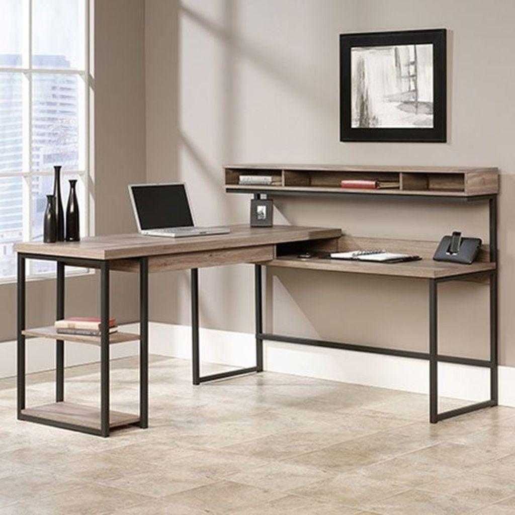 Futuristic L Shaped Desk Design Ideas 21