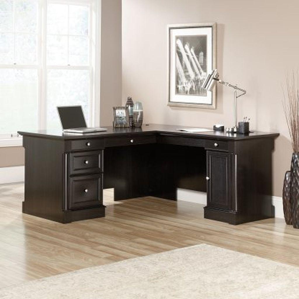 Futuristic L Shaped Desk Design Ideas 22