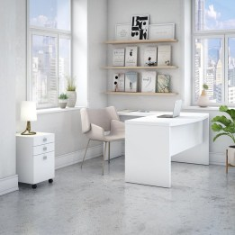 Futuristic L Shaped Desk Design Ideas 35