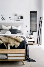 Modern And Stylish Scandinavian Bedroom Decoration Ideas 04