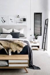 Modern And Stylish Scandinavian Bedroom Decoration Ideas 04