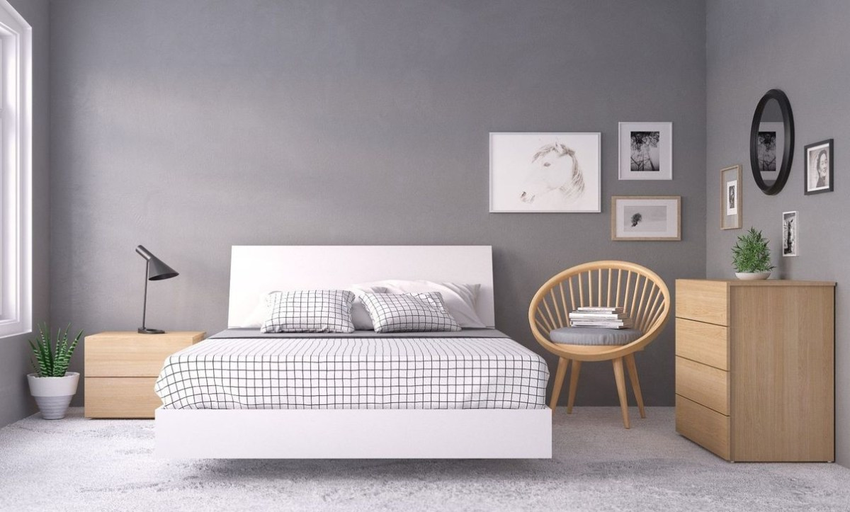 Modern And Stylish Scandinavian Bedroom Decoration Ideas 07